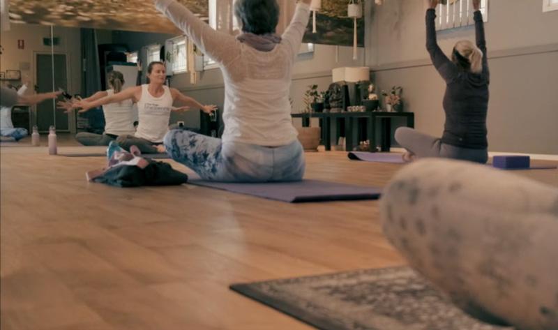 experienced yoga teacher